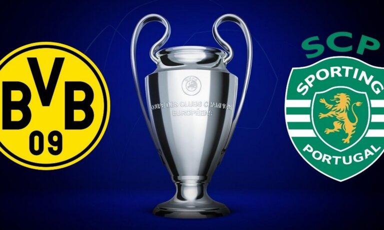 Ντόρτμουντ – Σπόρτινγκ Λισαβόνας 1-0 (ΤΕΛΙΚΟ)