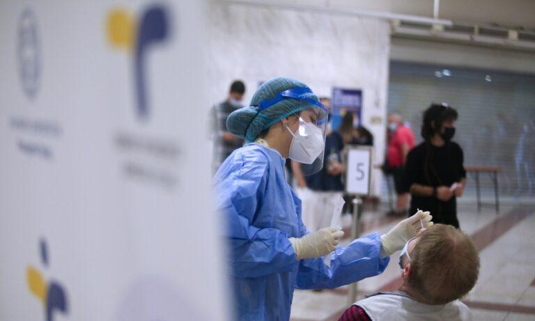 Κορονοϊός: Πού θα γίνουν δωρεάν rapid test την Δευτέρα (13/9)