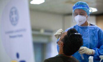 Κορονοϊός: 2.807 νέα κρούσματα, 388 στις ΜΕΘ, οι 39 πλήρως εμβολιασμένοι