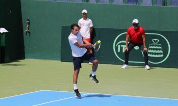 Ο Αλέξανδρος Σκορίλας στο Davis Cup