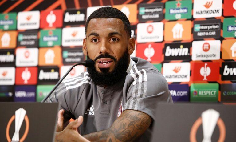 Εμβιλά: «Εδώ είμαστε και πρέπει να ξεκινήσουμε καλα το Europa League»
