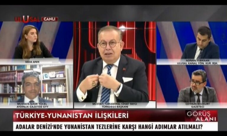Ελληνοτουρκικά: Ο Τούρκος Ναύαρχος Τζιχάντ Γιαϊτζί, σε δηλώσεις του τόνισε πως προβλήματα, δημιουργούν οι απαιτήσεις των Ελλήνων.
