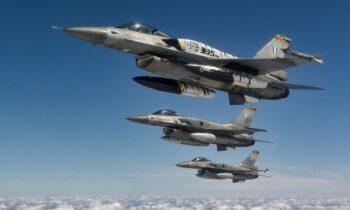Ελληνοτουρκικά: Έτοιμα και οπλισμένα τα Τούρκικα F-16 πάνω από το Αιγαίο!