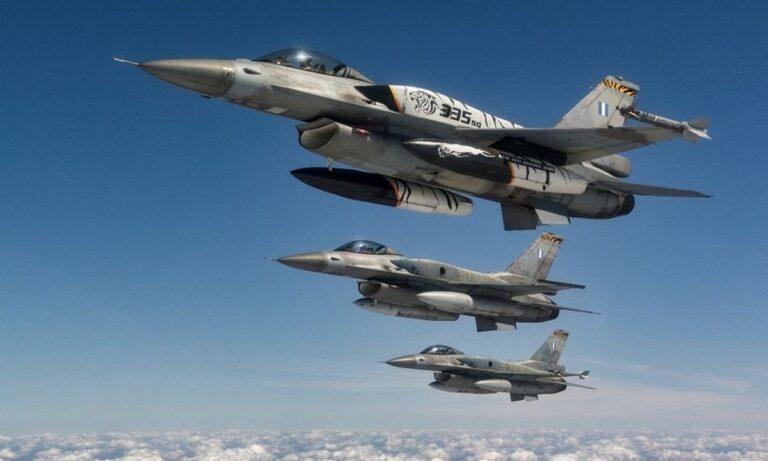 Ελληνοτουρκικά: Απίστευτη πρόκληση – Έτοιμα και οπλισμένα τα Τούρκικα F-16 πάνω από το Αιγαίο!