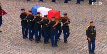 H Γαλλία είπε το τελευταίο «αντίο» με μία συγκλονιστική τελετή στον πολύ σπουδαίο ηθοποιό, Ζαν Πολ Μπελμοντό.
