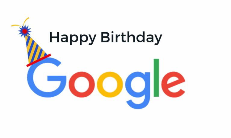 Η Google γίνεται 23 ετών!