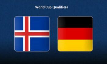 Ισλανδία - Γερμανία LIVE: Παρακολουθήστε την εξέλιξη της αναμέτρησης των προκριματικών του Μουντιάλ από τα online στατιστικά τουSportime.