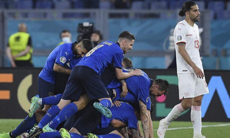 Ελβετία – Ιταλία 0-0 (ΤΕΛΙΚΟ)