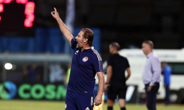Αστέρας Τρίπολης – Ολυμπιακός: Με Τικίνιο βασικό οι «ερυθρόλευκοι»