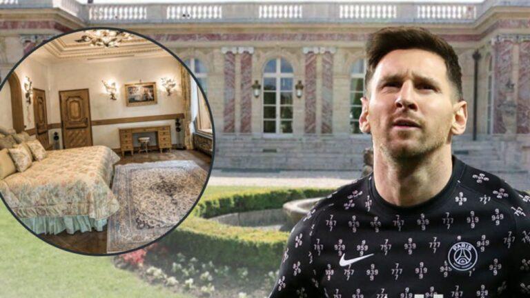 Λιονέλ Μέσι: Αυτό είναι το… φτωχικό του στο Παρίσι – Νοικιάζει κάστρο 48 εκατομμυρίων ευρώ! (pics)