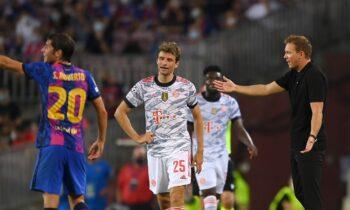 Μπαρτσελόνα - Μπάγερν: Πρώτη ήττα σε πρεμιέρα για τους Καταλανούς από τη σεζόν 1997-1998
