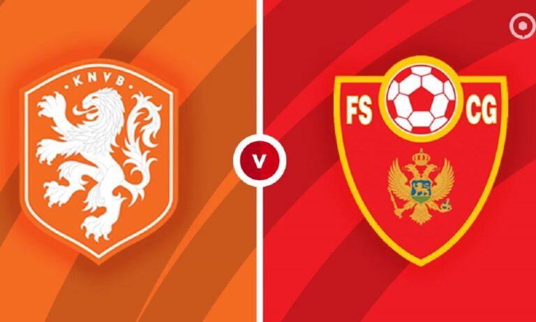 Ολλανδία – Μαυροβούνιο 4-0 (ΤΕΛΙΚΟ)