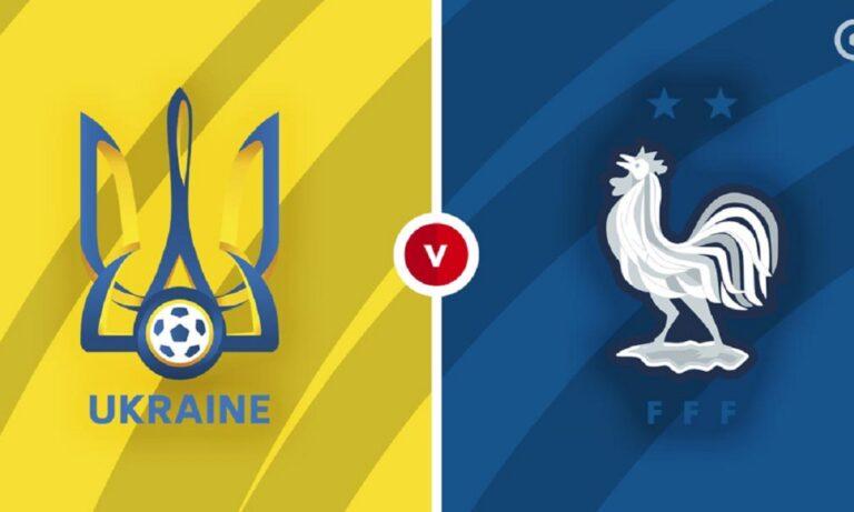 Ουκρανία - Γαλλία: Παρακολουθήστε την εξέλιξη της αναμέτρησης για τα προκριματικά του Μουντιάλ από τα online στατιστικά τουSportime.