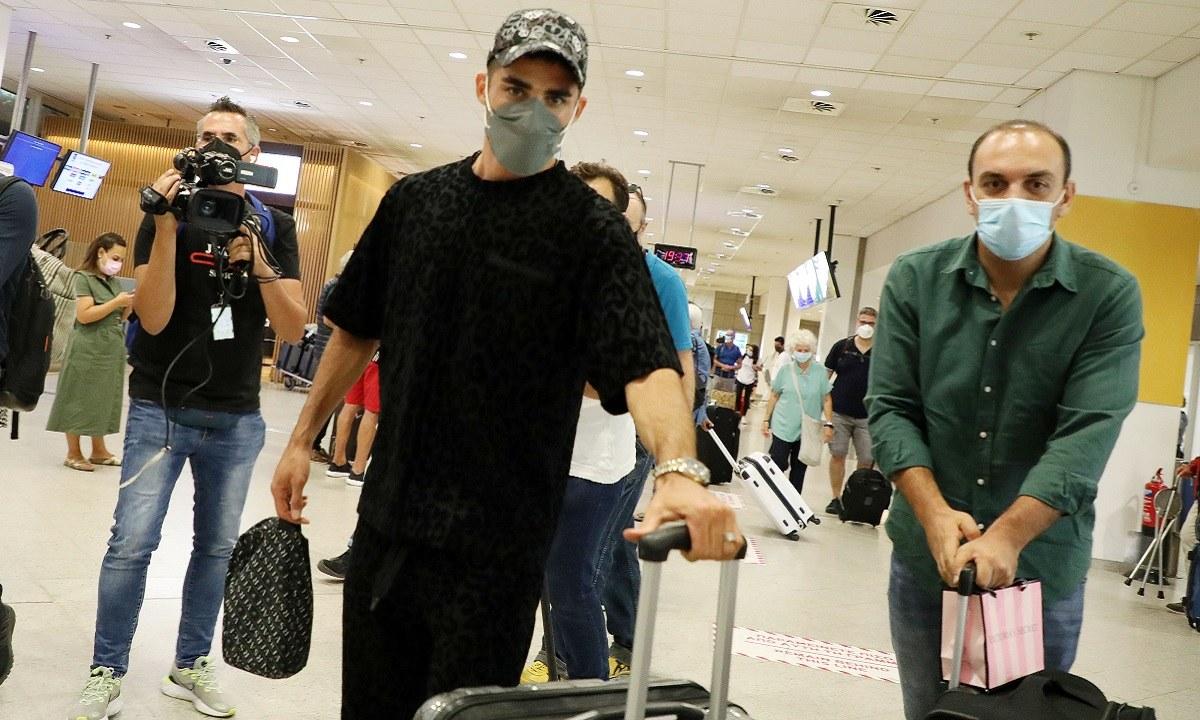 O Μίλαντ Μοχαμαντί έφτασε στην χώρα μας την Τετάρτη (15/9) για λογαριασμό της ΑΕΚ