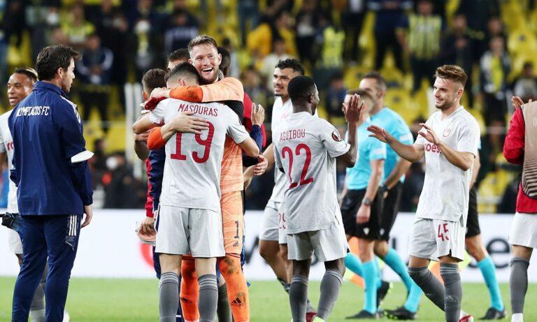 Φενέρμπαχτσε – Ολυμπιακός 0-3: Έτσι έγινε ο θρίαμβος στην Πόλη (vid)