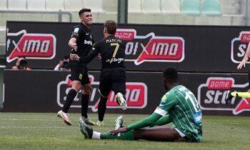 Παναθηναϊκός - Άρης 1-2: Ο Ματέο Γκαρσία σκοράρει το δεύτερο γκολ της ομάδας του