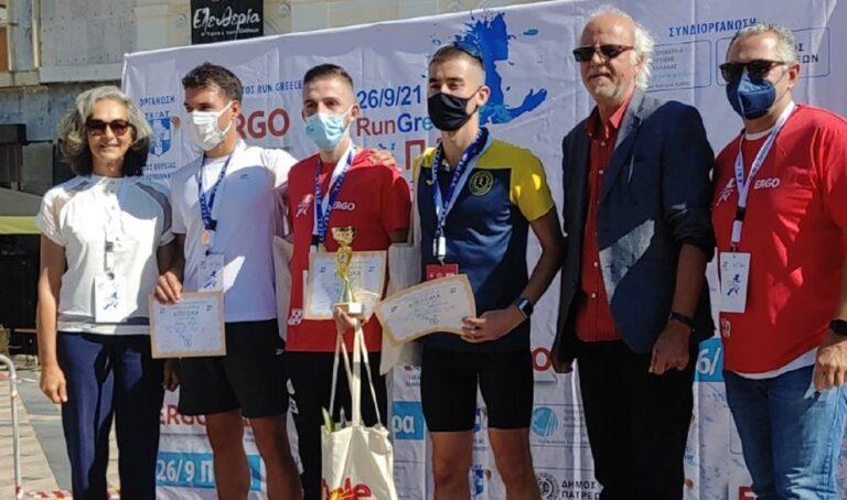 Η Πάτρα υποδέχθηκε σήμερα τους δρομείς που συμμετείχαν στον αγώνα Run Greece, τον οποίο διοργάνωσε ο ΣΕΓΑΣ, η Περιφέρεια και ο δήμος Πατρέων.