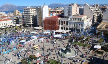 Η Πάτρα θα φιλοξενήσει για όγδοη χρονιά τον αγώνα δρόμου Run Greece, το μεγαλύτερο δρομικό γεγονός, που διεξάγεται στην πόλη της Αχαΐας.