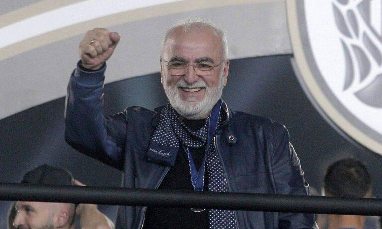 Ιβάν Σαββίδης: «Ο ΠΑΟΚ είναι η ψυχή μου και δεν πωλείται – Δεν έχω κανένα πρόβλημα υγείας»