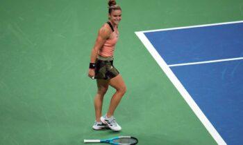 Η Μαρία Σάκκαρη είναι και επίσημα το νέο Νο13 του κόσμου, εξαργυρώνοντας την εκπληκτική πορεία της μέχρι τα ημιτελικά του US Open.