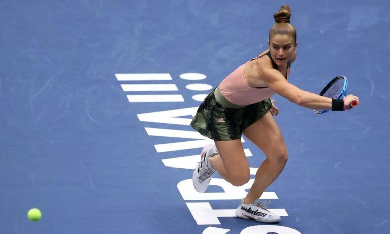 Μαρία Σάκκαρη: Η μέρα και η ώρα του ημιτελικού με την Σβιόντεκ στο Ostrava Open