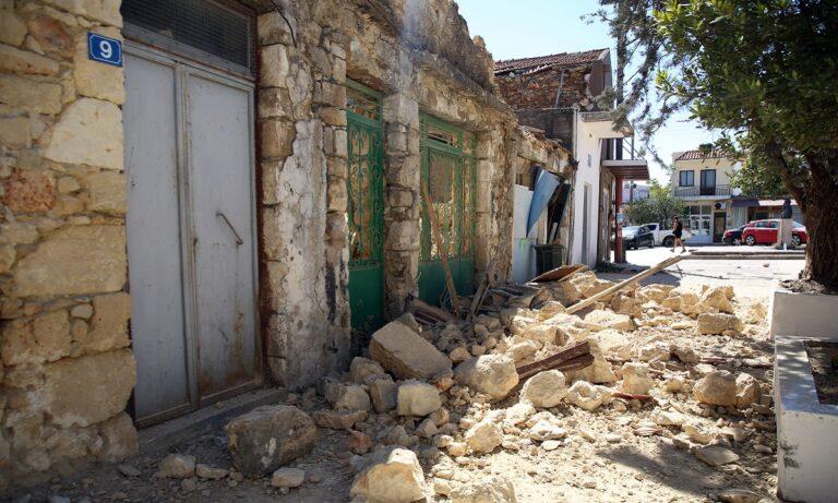 Σεισμός Κρήτη: Μήνυμα από το 112: «Μην μπαίνετε σε κτίρια που έχουν υποστεί ζημιά»