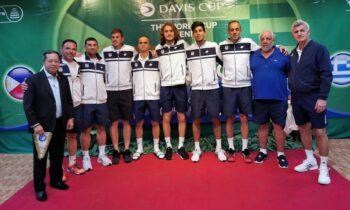 Με σύνθημα «διεκδικούμε το όνειρό μας» η Εθνική Ομάδα Τένις αναχωρεί τη Δευτέρα 13 Σεπτεμβρίου με πτήση στις 10:00 π.μ. από το «Ελευθέριος