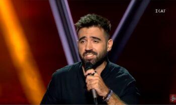 The Voice: Ο Φίλιππος Μαχαίρας τραγούδησε το «Ο παλιός στρατιώτης»