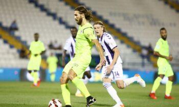 Χωρίς τον τραυματία Ντμίτρο Τσιγκρίνσκι θα αγωνιστεί ο Ιωνικός στα επόμενα παιχνίδια, μετά την διακοπή του πρωταθλήματος της Super League 1.