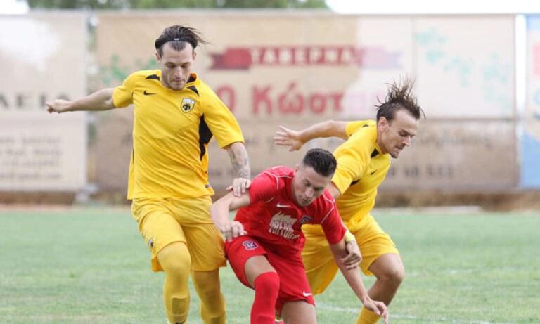 ΑΕΚ Β': Φιλική ισοπαλία (0-0) με τον Διαγόρα
