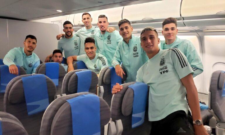 Επιστρέφει στην Αργεντινή η αποστολή της Εθνικής μετά τη διακοπή του φιλικού με τη Βραζιλία!