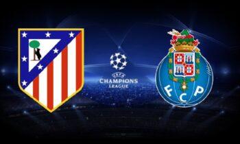 Ατλέτικο Μαδρίτης - Πόρτο LIVE: Παρακολουθήστε την εξέλιξη της αναμέτρησης τουChampions Leagueαπό τα online στατιστικά τουSportime.