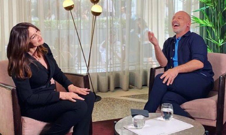Στην Ελλάδα για τη Μαρία Κάλλας η Μόνικα Μπελούτσι, μίλησε στον Νίκο Μουτσινά (vids)