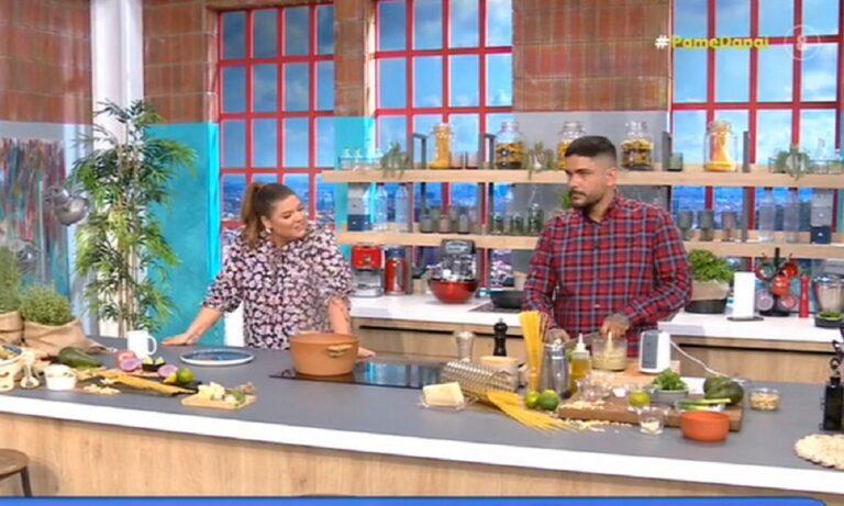 Δανάη Μπάρκα στον μάγειρα της εκπομπής: «Θες να κάνουμε παιδί»;