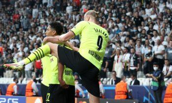 Champions League: O Χόλαντ έβγαλε το όπλο του, ο Μπέλιγχαμ έκανε όργια και η Ντόρτμουντ κάλπασε στην πρεμιέρα