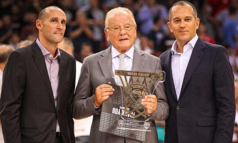 ΚΑΕ Ολυμπιακός: Το «αντίο» των προέδρων στον Ντούσαν Ίβκοβιτς