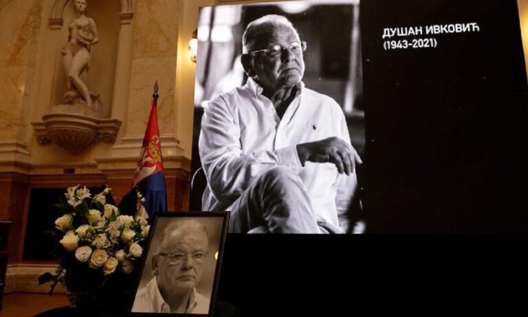 Ντούσαν Ίβκοβιτς: Ράγισαν καρδιές στην τελετή μνήμης του
