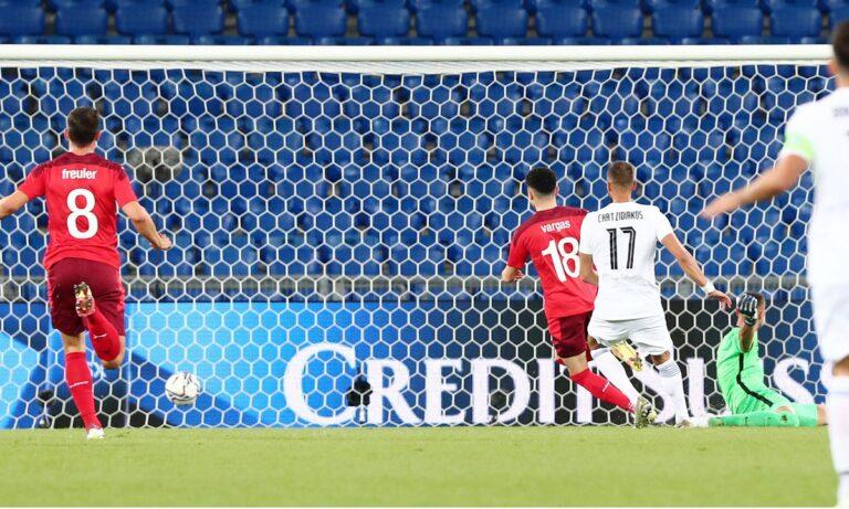 Ελβετία – Ελλάδα: Ασίστ ο Τσούμπερ και 2-1 με τον Βάργκας οι Ελβετοί (vid)