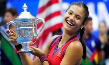 Έμα Ραντουκάνου: Τι έκανε στα τέσσερα και κατάλαβαν ότι θα παίξει μεγάλο τένις