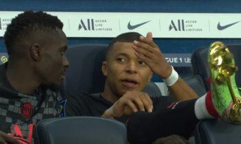 Ο Κιλιάν Εμπαπέ εμφανίστηκε εκνευρισμένος με τον Νεϊμάρ στην αναμέτρηση της Παρί Σεν Ζερμέν με τη Μονπελιέ.