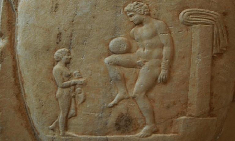 Eπίσκυρος: Το ποδόσφαιρο ανακαλύφθηκε στην αρχαία Λαμία