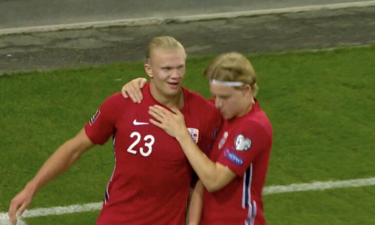Νορβηγία – Ολλανδία: Αλήτικο «τσίμπημα» ο Χόλαντ για το 1-0 (VID)