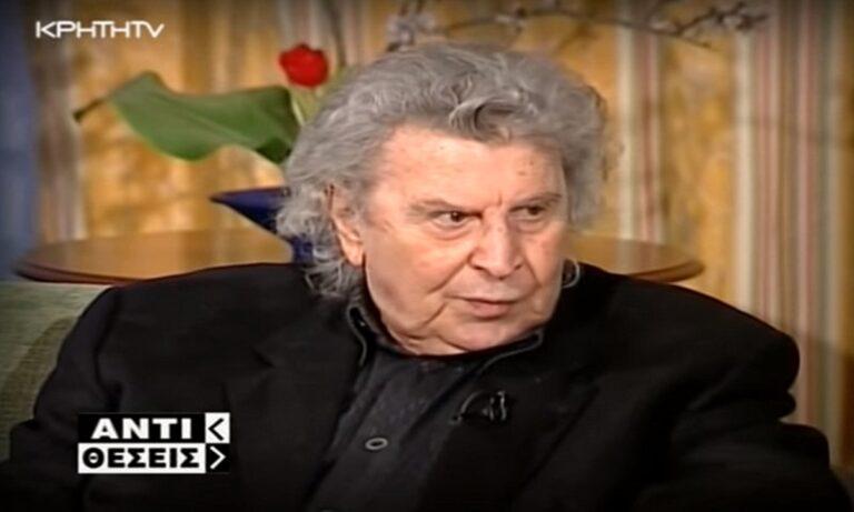 O Μίκης Θεοδωράκης σε συνέντευξη του από το 2006 χαρακτήρισε τον εαυτό του ως «παιδί της Εκκλησίας» και μίλησε για το μεγαλείο της Βυζαντινής Μουσικής που επηρέασε και το έργο του.