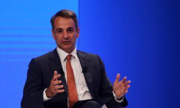 Κυριάκος Μητσοτάκης: Τον πρόεδρο της FIFA, Τζιάνι Ινφαντίνο, θα συναντήσει στη Νέα Υόρκη ο πρωθυπουργός.