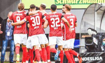 Η Φράιμπουργκ καθάρισε με 3-0 την Άουγκσμπουργκ