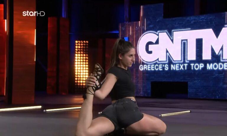 GNTM: Η yoga instructor τρέλανε τους κριτές με αυτά που έκανε (vid)