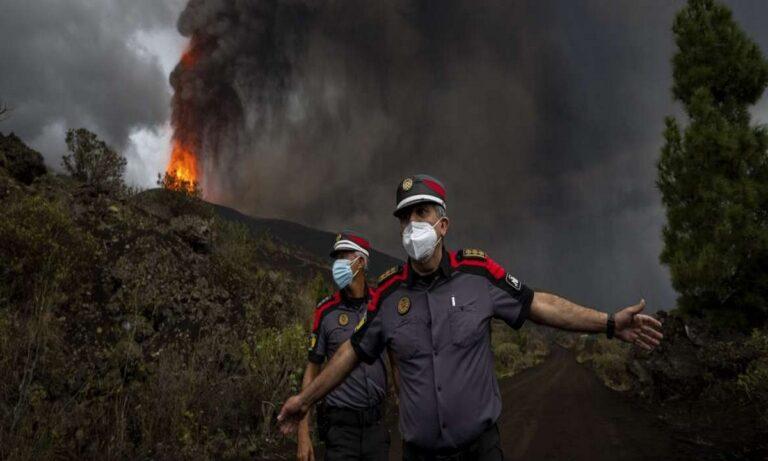 Ισπανία: Συνεχίζει τη… δράση του το ηφαίστειο στη Λα Πάλμα – Πλάνα από drone