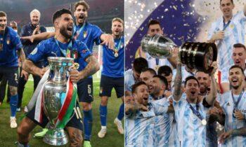 Ο πρώτος από τους αγώνες Εθνική Ιταλίας - Εθνική Αργεντινής θα διεξαχθεί τον Ιούνιο του 2022