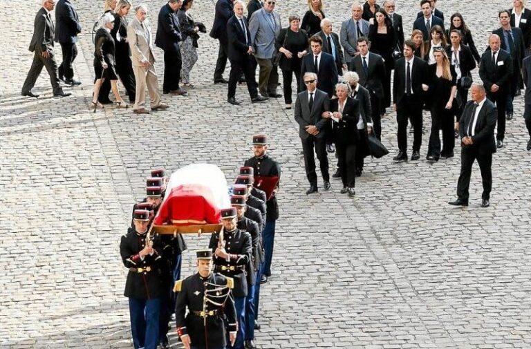 Ζαν-Πολ Μπελμοντό: Πλήθος κόσμου για το τελευταίο «αντίο»