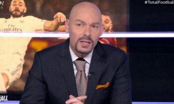 Ο Τάσος Κάκος στην εκπομπή Total Football